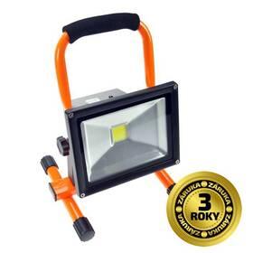 LED reflektor Solight 20W, studená bílá, nabíjecí, 1600lm (WM-20W-D) čierny/oranžový