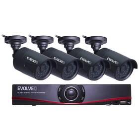 Kamerový systém Evolveo Detective D04 FullHD, NVR (DETECTIVE D04_FHD)