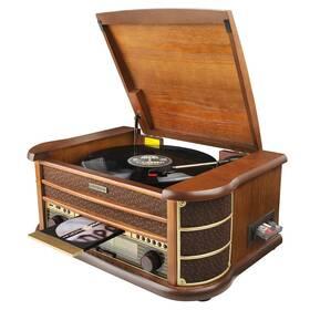 Gramofón Hyundai Retro RTCC 513 RIP drevený