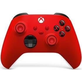 Gamepad Microsoft Xbox Series Wireless (QAU-00012) červený