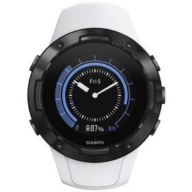 GPS hodinky Suunto 5 - White black (SS050446000)