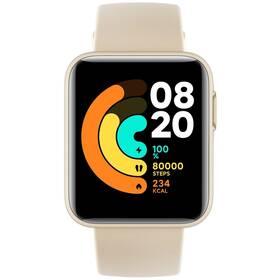 Inteligentné hodinky Xiaomi Mi Watch Lite (28820) béžové
