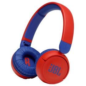 Slúchadlá JBL JR 310BT červená/modrá