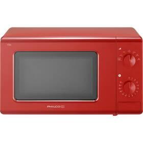 Mikrovlnná rúra Philco Retro PMD 201 R červená