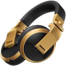 Slúchadlá Pioneer DJ HDJ-X5BT-N (HDJ-X5BT-N) zlatá