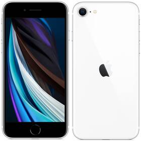Mobilný telefón Apple iPhone SE (2020) 128 GB - White (MHGU3CN/A)