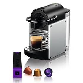 Espresso DeLonghi Nespresso EN124.S strieborné