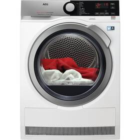 Sušička bielizne AEG AbsoluteCare® T8DFE68SC biela farba