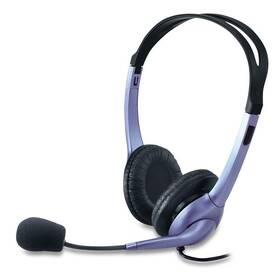 Headset Genius HS-04S (31710025100) čierny/strieborný
