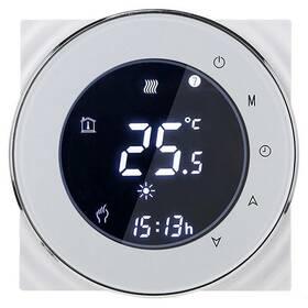 Termostat iQtech SmartLife GCLW-W, WiFi termostat pro bojlery a kotle s bezpotenciálovým spínáním (IQTGCLW-W) biely