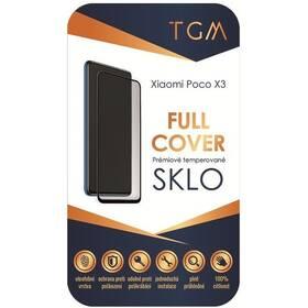 Tvrdené sklo TGM Full Cover na Poco X3 (TGMFCXIPOX3) čierne
