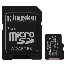Pamäťová karta Kingston Canvas Select Plus MicroSDXC 64GB UHS-I U1 (100R/10W) + adapter (SDCS2/64GB)