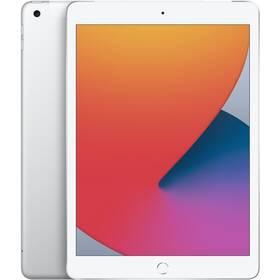 Tablet Apple iPad (2020) Wi-Fi + Cellular 128GB - Silver (MYMM2FD/A)