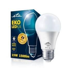 LED žiarovka ETA EKO LEDka klasik 15W, E27, teplá biela (A65W15WW)