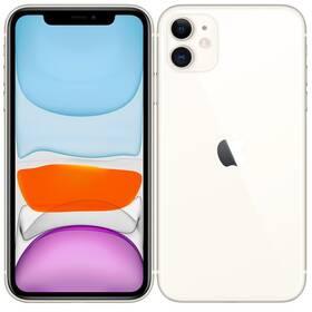 Mobilný telefón Apple iPhone 11 64 GB - White (MHDC3CN/A)
