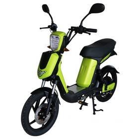 Elektrická motorka RACCEWAY E-Babeta E-BABETA, zelený-metalíza zelená farba