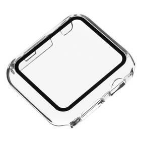 Ochranné puzdro FIXED Pure s temperovaným sklem na Apple Watch 44mm (FIXPUW-434) priehľadné