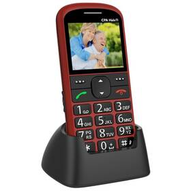 Mobilný telefón CPA Halo 11 Senior (TELMY1011RE) červený