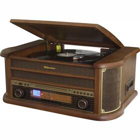 Gramofón Roadstar HIF-1993 BT drevený