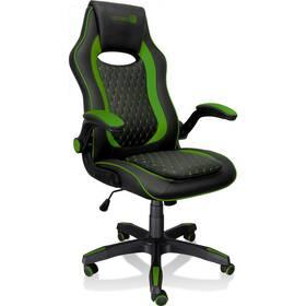 Herná stolička Connect IT Matrix Pro (CGC-0600-GR) čierna/zelená