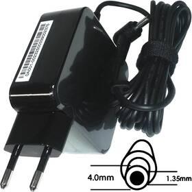 Sieťový adaptér Asus 45W 19V 2P BLK(AC FIX) s EU plug (B0A001-00232500)