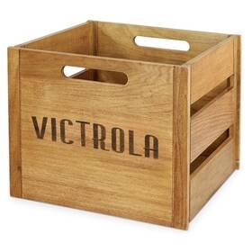 Bednička Victrola na vinylové desky (VA-20-MAH-EU) drevená