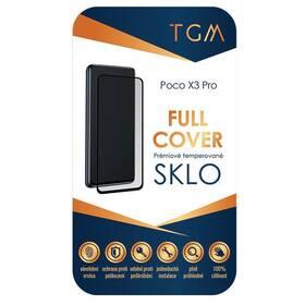 Tvrdené sklo TGM Full Cover na Poco X3 Pro (TGMFCPOX3P) čierne