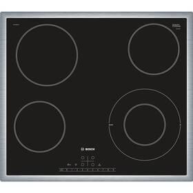 Sklokeramická varná doska Bosch PKF645FN1E čierna