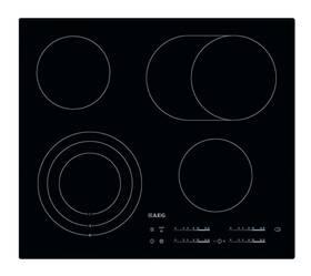 Sklokeramická varná doska AEG Mastery HK654070IB čierna/sklo