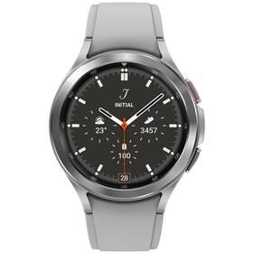 Inteligentné hodinky Samsung Galaxy Watch4 Classic 46mm (SM-R890NZSAEUE) strieborné