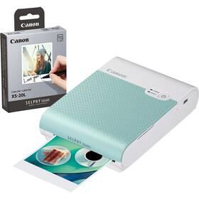 Fototlačiareň Canon Selphy Square QX10 + fotopapiere 20 ks zelená