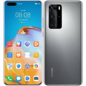 Mobilný telefón Huawei P40 Pro (HMS) 5G (SP-P40P256DSTOM) sivý