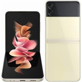 Mobilný telefón Samsung Galaxy Z Flip3 128 GB 5G (SM-F711BZEBEUE) krémový