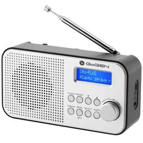 Rádioprijímač s DAB+ GoGEN DAB 300 N strieborný