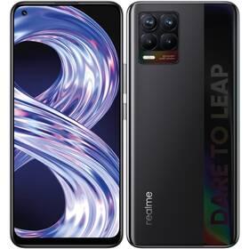 Mobilný telefón realme 8 128 GB - Cyber Black (RMX3085BL6)