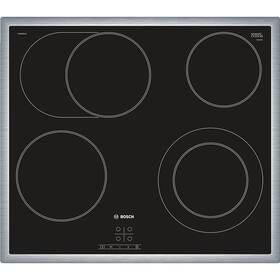 Sklokeramická varná doska Bosch PKN645BA1E čierna