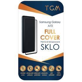 Tvrdené sklo TGM Full Cover na Samsung Galaxy A72 (TGMFCSAMA72) čierne