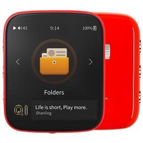 Prenosný digitálný prehrávač Shanling Q1 červený