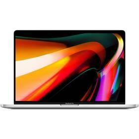 """Notebook Apple MacBook Pro 16"""" s Touch Bar 1 TB (2019) - Silver SK verze (MVVM2SL/A)"""