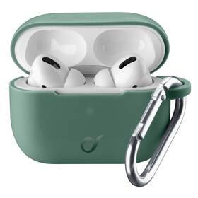 Puzdro CellularLine Bounce pro Apple AirPods Pro (BOUNCEAIRPODSPROG) zelené