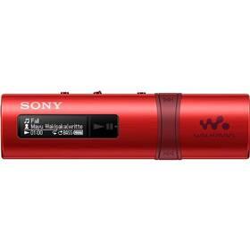 MP3 prehrávač Sony NWZ-B183FR červený