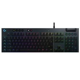 Klávesnica Logitech Gaming G815 Lightsync RGB, Linear, US (920-009008) čierna