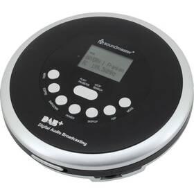 Discman Soundmaster CD9290SW čierny/strieborný