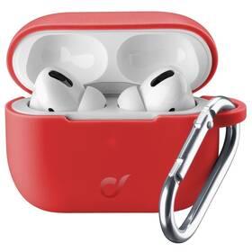 Puzdro CellularLine Bounce pro Apple AirPods Pro (BOUNCEAIRPODSPROR) červené