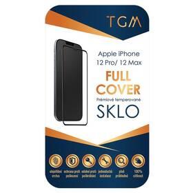 Tvrdené sklo TGM Full Cover na Apple iPhone 12/12 Pro (TGMFCAPIP1261) čierne