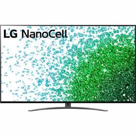 Televízor LG 75NANO81P sivá