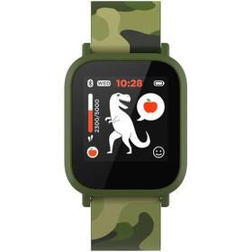 Inteligentné hodinky Canyon My Dino KW-33 - dětské (CNE-KW33GB) zelený