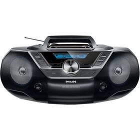 Rádioprijímač s CD Philips AZ780 čierny