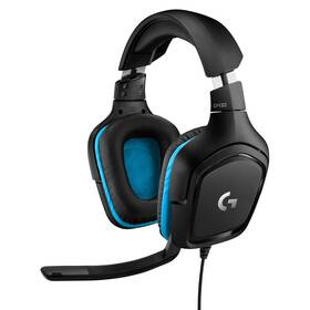 Headset Logitech G432 7.1 Surround Sound (981-000770) čierny