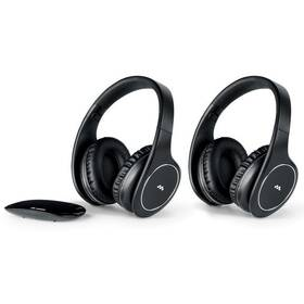 Slúchadlá Meliconi HP Easy Digital Bundle (497320) čierna